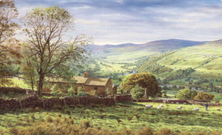 Swaledale, Yorkshire Dales painting
