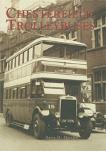 Chesterfield Trolleybuses Book Cover