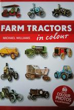 Farm Tractors in Colour Book Cover