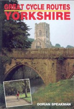 Great Cycle Routes Yorkshire Book Cover