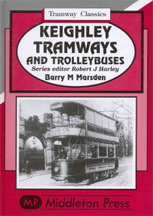 Keighley Tramways and Trolleybuses Book Cover