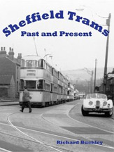 Sheffield Trams Past and Present Book Cover