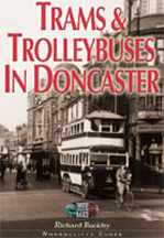 Trams & Trolleybuses in Doncaster Book Cover