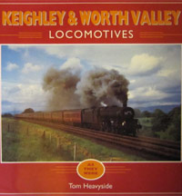 Keighley and Worth Valley Locomotives: As They Were book cover