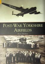 Post-War Yorkshire Airfields book cover