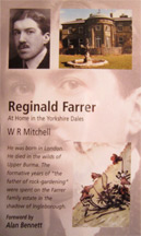 Reginald Farrer: At home in the Yorkshire Dales book cover