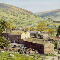 settle yorkshire dales painting
