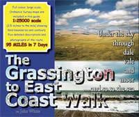 The Grassington To East Coast Walk book cover