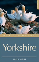 Where To Watch Birds Yorkshire book cover