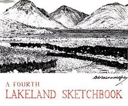 Wainwright A Fourth Lakeland Sketchbook book cover