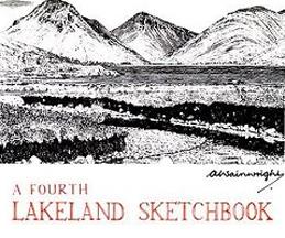 Wainwright A Fourth Lakeland Sketchbook book cover