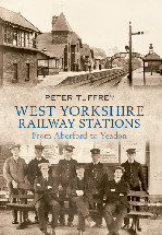 West Yorkshire Railway Stations Book Cover