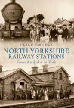 North Yorkshire Railway Stations Book Cover