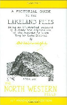 Lakeland Fells Book Six North Western Fells Book Cover