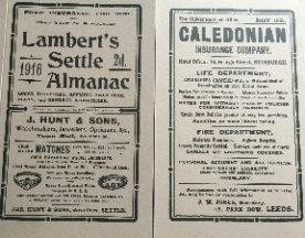 Lambert's Settle Almanac Book Cover