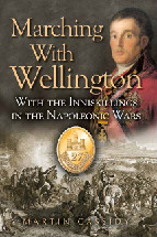 Marching With Wellington Book Cover