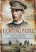 The fighting Padre Book Cover