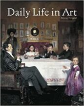 Daily life in Art Book cover
